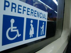 preferencial asiento