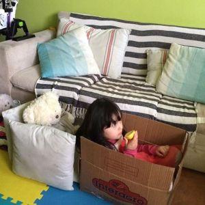 Algo que nunca pasará de moda: la caja de cartón