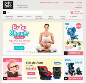 ¡Nueva web store de Baby Point!