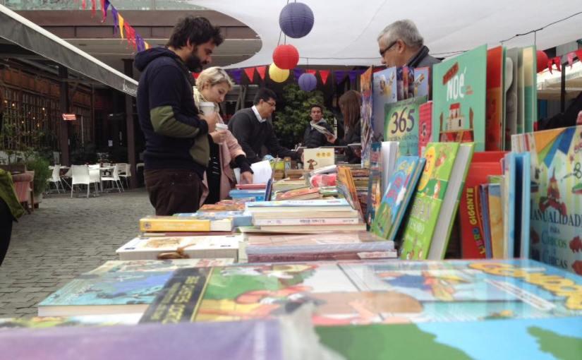 Panorama: Feria del libro Con Cuento en PatioBellavista