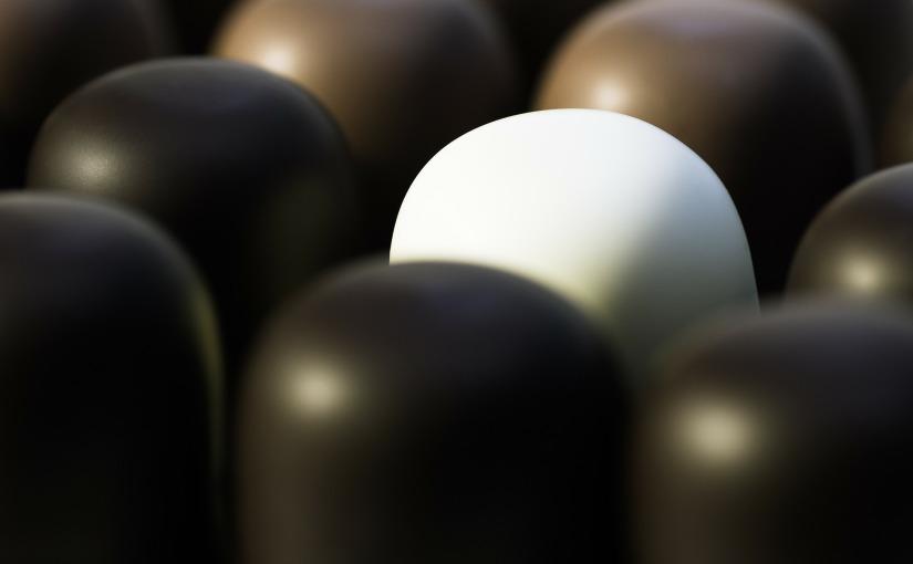 ¿Chocolate blanco o chocolatenegro?
