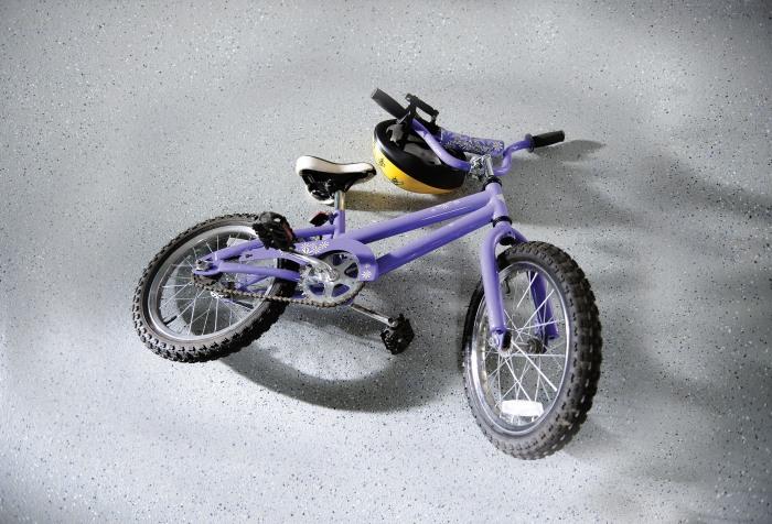 bicicleta rust-oleum