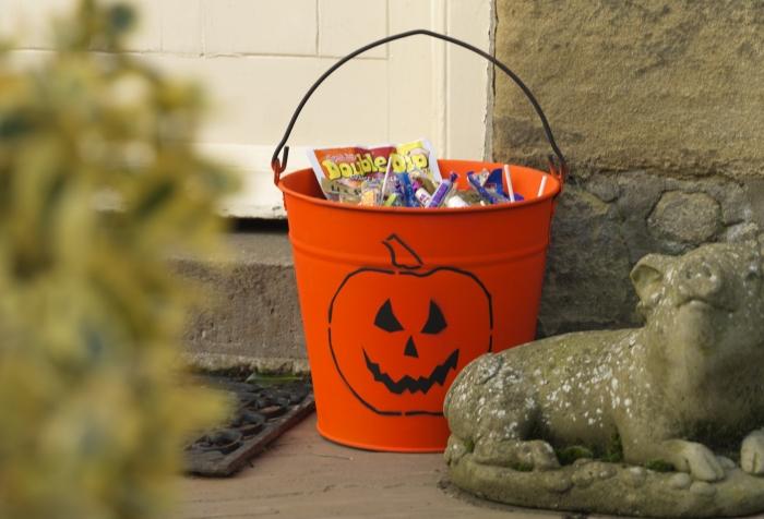 calabaza dulces halloween