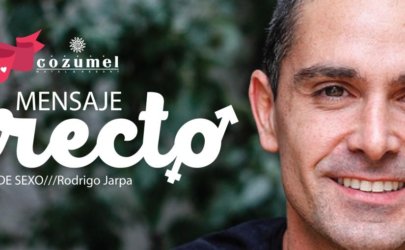 """Rodrigo Jarpa y """"Los Mitos del Sexo aldescubierto"""""""