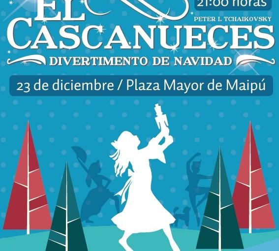#Panorama Maipú celebra Navidad con ballet Cascanuecesgratis