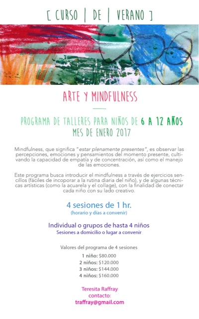 arte y mindfullness para niños
