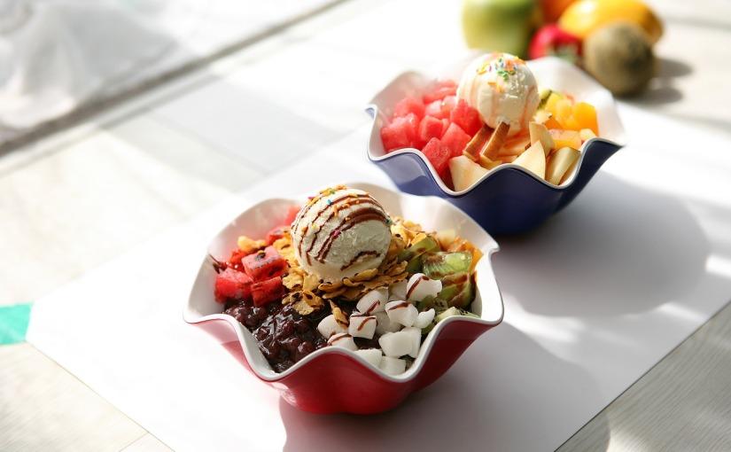 El sabor del helado determina cuántas caloríasaporta
