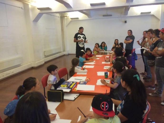 talleres de verano biblioteca de santiasgo