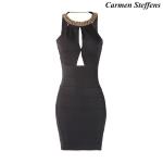 Carmen Steffens vestido adelgaza