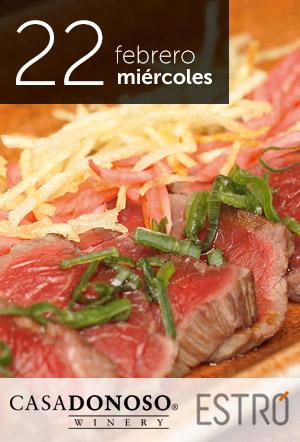 #Panorama Casa Donoso invita a deleitar los sentidos con extraordinaria cenamaridaje