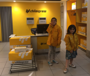 De repartidoras Chilexpress Kidzania