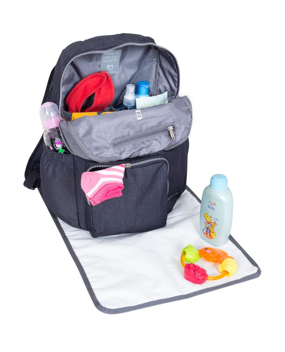 Saxoline presenta su nueva línea de bolsos maternales