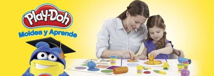 moldea y aprende con Play-Doh