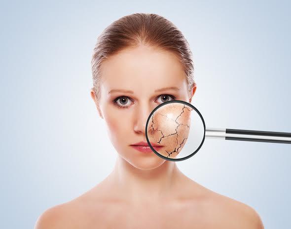 piel contaminación