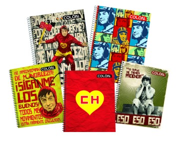 Cuaderno Chapulín Colon