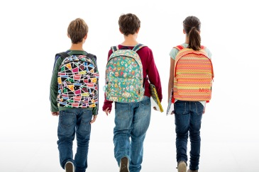 Peso mochilas niños