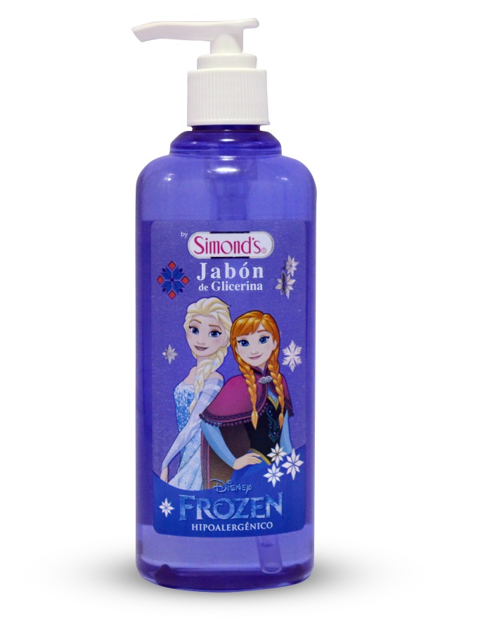 jabón frozen simmon's