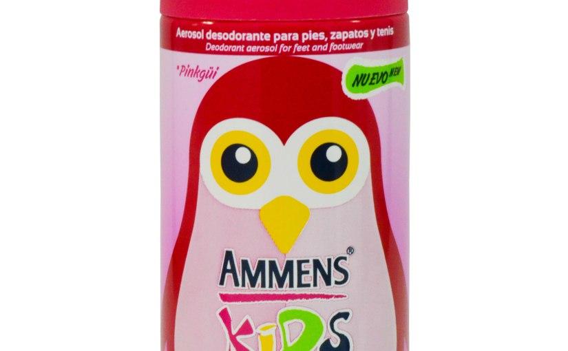 Dile adiós al mal olor y humedad en los pies con lo nuevo de AmmensKids