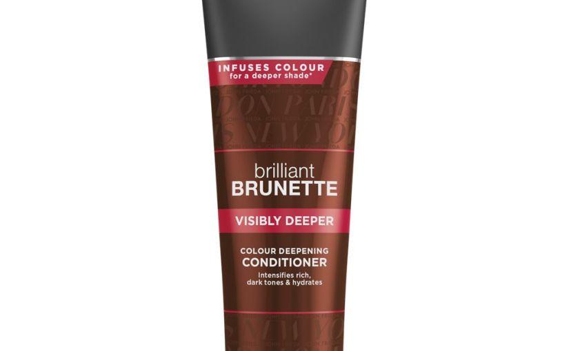 John Frieda Brilliant Brunette: Dos productos para lograr un tono castaño más profundo yluminoso