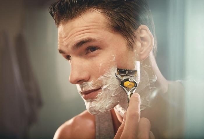 Afeitado gillette
