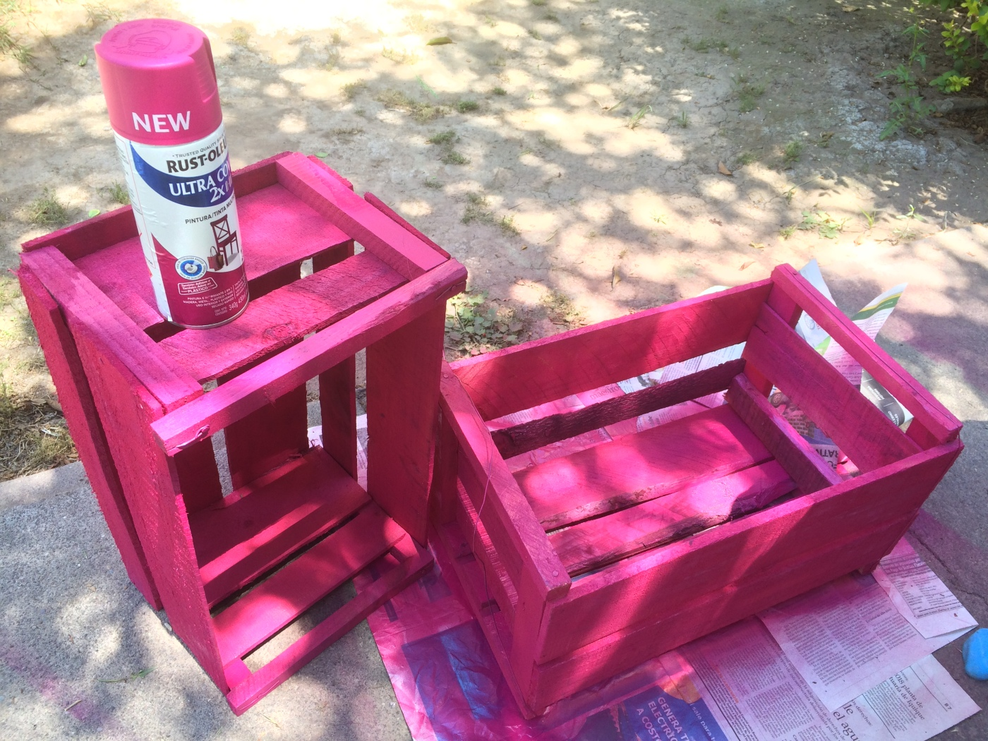Proyecto DIY Rust-Oleum