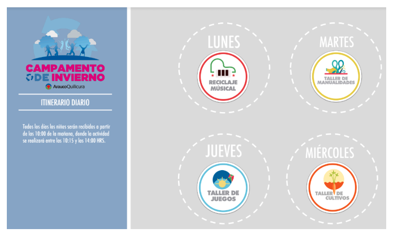 Mall Arauco Quilicura invita a todos los niños a pasar las vacaciones de invierno con entretenidos talleresecosustentables