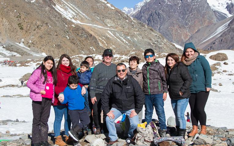 Mostazal: paseos a la nieve en vacaciones de invierno ygratis
