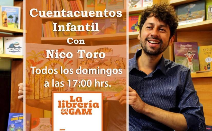 #PanoramaGratis Domingos de Cuentacuentos en La Librería delGAM