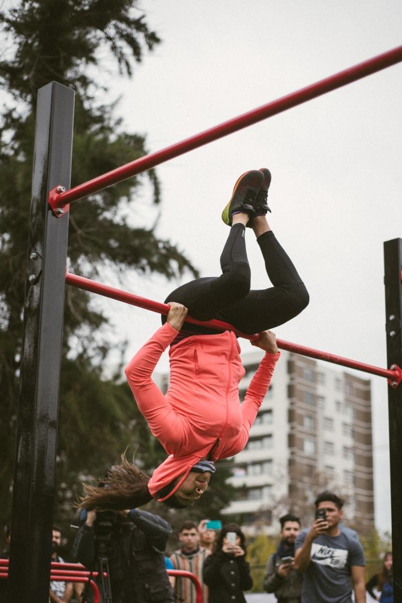 Otro nuevo Reebok Fitness Park se inauguró en La Reina