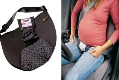 ¿Embarazada y conductora? Así puedes cuidar tu vientre con el cinturón deseguridad