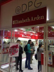 Elizabeth Arden en Chile