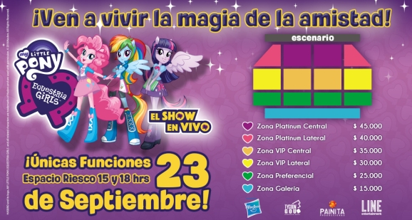 show my little pony chile