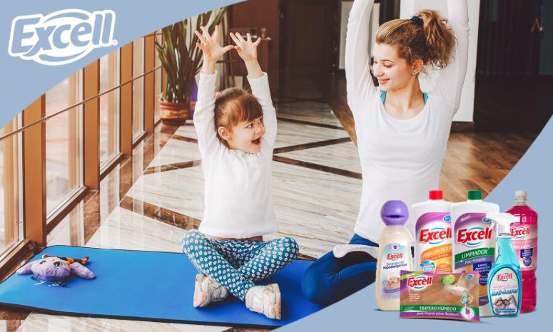Practica yoga con tus hijos y fomenta la vidasana