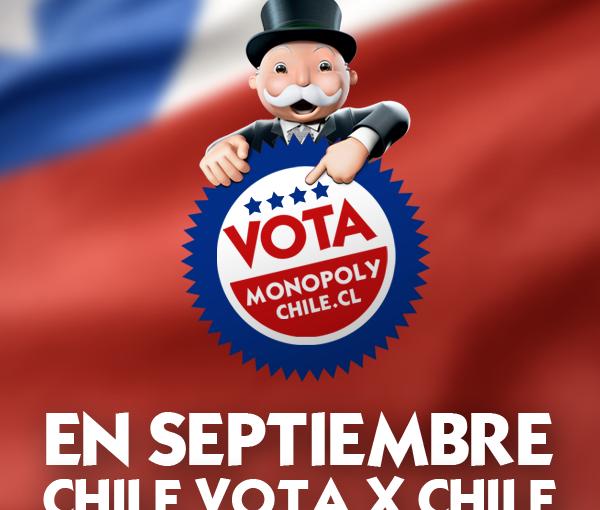 Y tú, ¿ya votaste en #VotaMonopolyChile ?