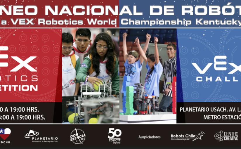 PANORAMA: Torneo de robótica VEX enPlanetario