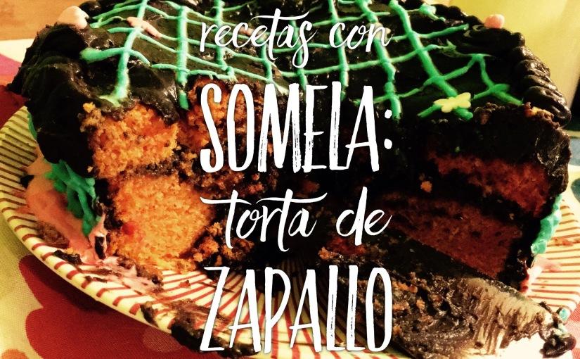 #RecetaconSomela Torta de Zapallo con ganache dechocolate