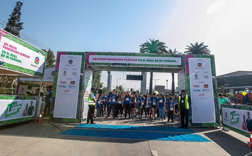 #Panoramas Imperdible corrida familiar