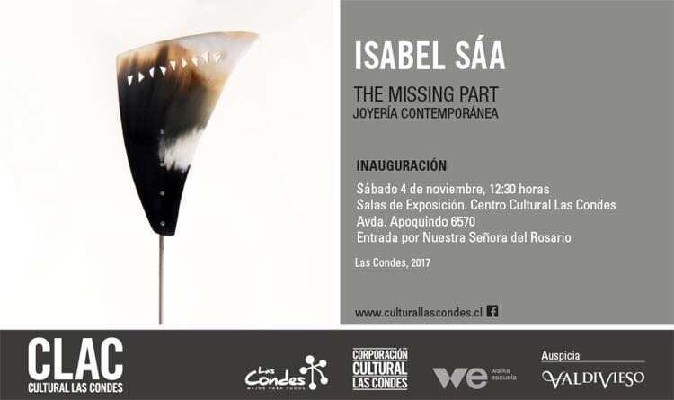 #Panorama Ven a la inauguración de The Missing Part