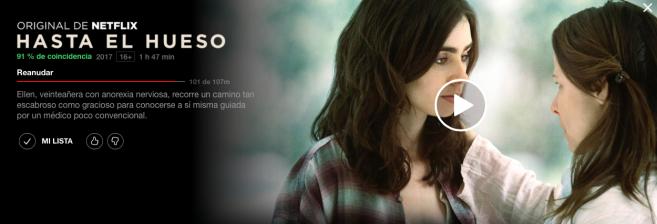 Hasta el Hueso Netflix
