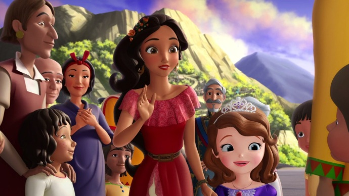 Elena Avalor Princesita Sofía Disney Junior