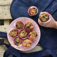 #RecetasconSomela Muffin con pulpa de frutas y harina de maíz