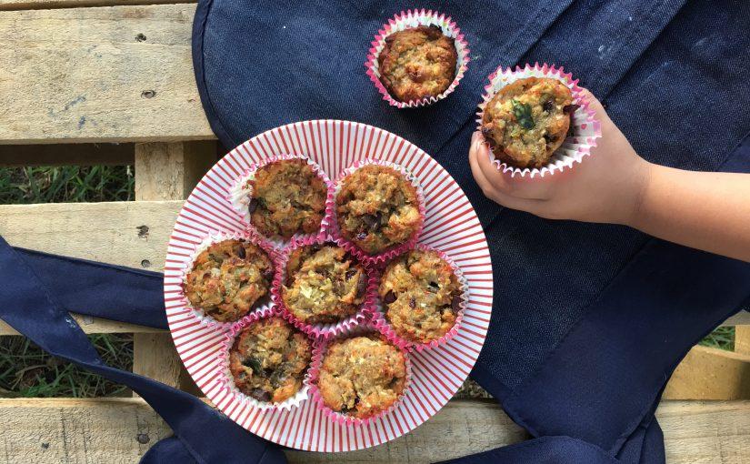 #RecetasconSomela Muffin con pulpa de frutas y harina demaíz