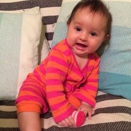 Olivia pequeña
