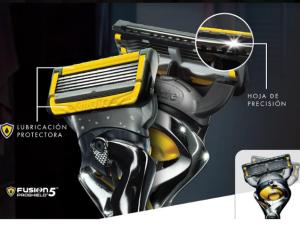 afeitadoras Gillette Fusion5
