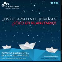 #PANORAMAS  19, 20 y 21 de mayo: ¡Fin de semana largo en Planetario USACH!