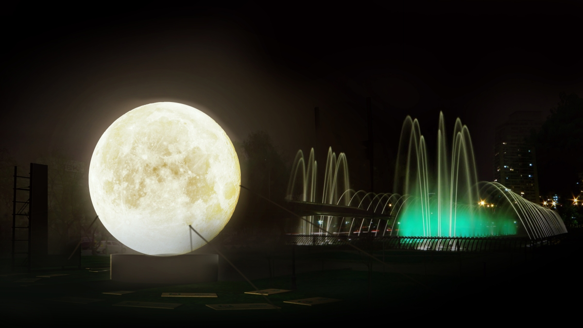 PANORAMA ¡La Luna bajó a nuestro planeta!