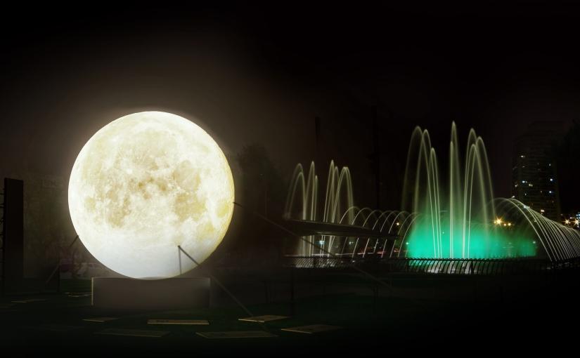 PANORAMA ¡La Luna bajó a nuestroplaneta!