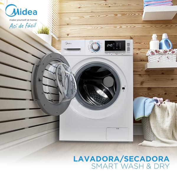 lavadoras secadoras midea