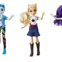 Las muñecas Equestria Girls regresan a las tiendas con ropa más sofisticada, a la moda y según el estilo único de cada personaje.