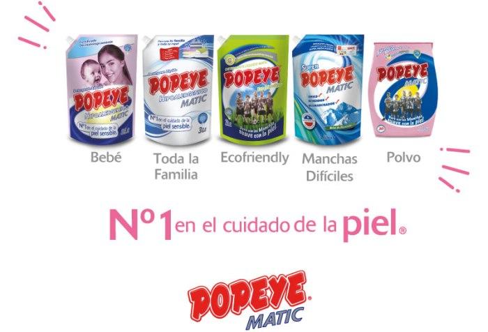 jabón popeye detergente